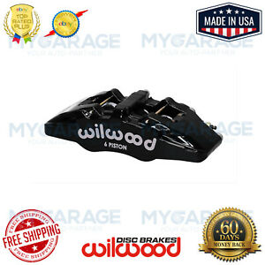 Wilwood Dynapro 6a Piston Forged Caliper Lug Mount Stainless 120 13438 Bk