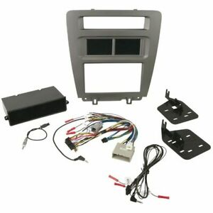 Scosche Itcfd01b Stereo Radio Dash Install Kit Double Din Ford Mustang 2010 2014