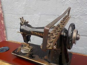 Industrial Sewing Machine Model Singer 52 Class 12 Needle Sherring