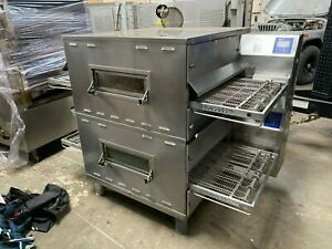 Dominos Pizza Middleby Marshall Ps636 Wow Double Stack Conveyor Oven