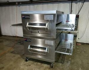 Dominos Pizza Middleby Marshall Ps200 Double Stack Conveyor Oven