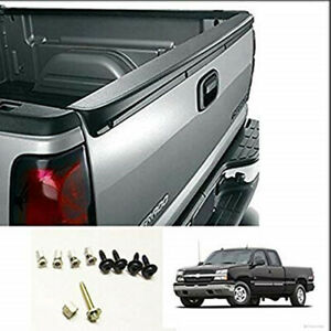 For 99 07 Chevy Silverado Gmc Sierra Sl Tailgate Top Cover Protector Spoiler