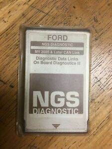 Ford Ngs New Generation Star Diagnostic Card Brown My 2005 Later Can Link