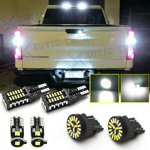 For Chevrolet Silverado 1500 2500 3500 05 14 Led Reverse License Cargo Light Kit