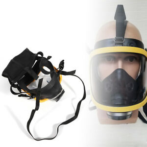 Brand New Electric Constant Flow Supplied Air Fed Full Face Gas Mask Respirator