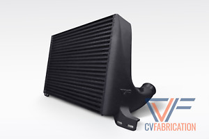 Cvf Race Intercooler For 2015 2021 Ford Mustang Ecoboost Black Fmic Front Mount