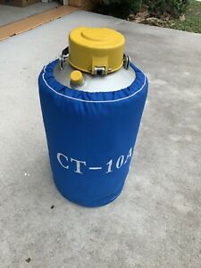 Ct 10a Liquid Nitrogen Container Dewar
