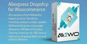 Aliexpress Dropshipping Business Plugin For Woocommerce With Licence Key