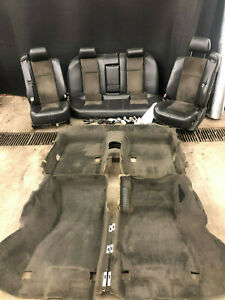 04 07 Cadillac Cts V Ctsv Black Seats Front Rear Interior Swap Carpet Console