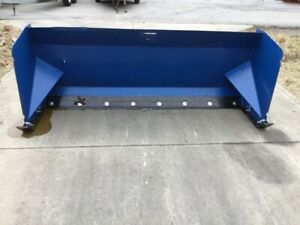 Snow Pusher Skid Steer Attachment