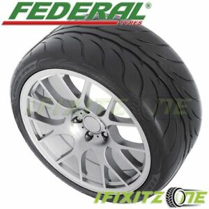 1 Federal 595rs pro 275 35zr18 95y Extreme Performance 200aa Dot Racing Tires