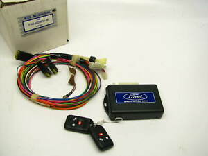 New Oem Ford F7az 54220k51 aa Universal Remote Keyless Entry System