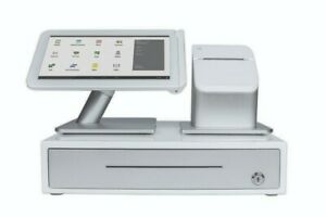 Clover Station Retail Pos Touchscreen Pos System Model C100 Includes Cash Drawer