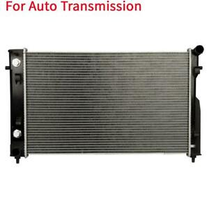 Automatic At Aluminum plastic Radiator 1 Row For 2004 2004 Pontiac Gto 5 7l V8