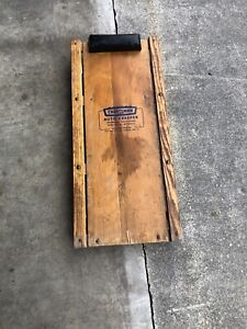 Vintage Craftsman Auto Mechanic S Creeper Wood Sears Roebuck And Co Shop Decor