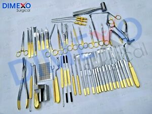Rhinoplasty Instruments Set Of 50 Pcs Nose Plastic Surgery Instruments