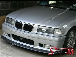 Carbon Fiber Front Bumper Lip Spoiler For 1992 1998 Bmw E36 M3 Only