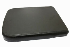 Real Leather Black Center Console Lid Armrest Cover Fits 02 08 Dodge Ram