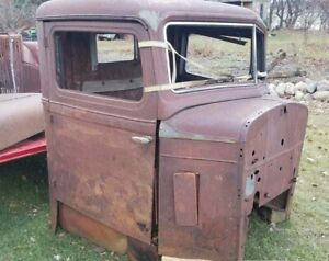 1933 33 Diamond T Pickup Truck Cab Shipping Included