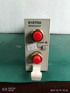 Agilent Used 81570a Optical Attenuator High Power