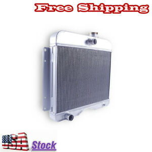 3rows Auto Radiator For Jeep Willys Station Wagon Pickup Truck I4 I6 1946 1964