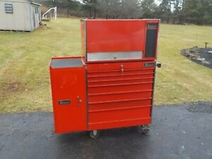 Vintage Snap on Rolling Tool Chest Side Box Excellent Cond 1 Owner 1970 s