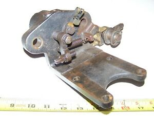 Old Weber 303j83 Webster Magneto Ignitor Bracket Hit Miss Engine Steam Oiler