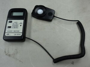 Lutron Lx 101a Light Meter Luminometer Lux Tester Illuminance Meter