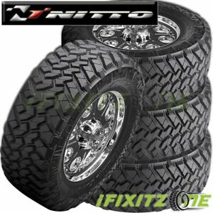 4 X Nitto Trail Grappler M t 40x15 50r20lt D 8 128q Mud Terrain Tires