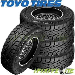 4 Toyo Open Country R T Lt265 75r16 10p All Terrain Off Road Rugged Truck Tires