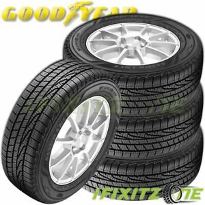 4 Goodyear Assurance Weather Ready 205 55r16 91h 60 000 Mile All season Tires