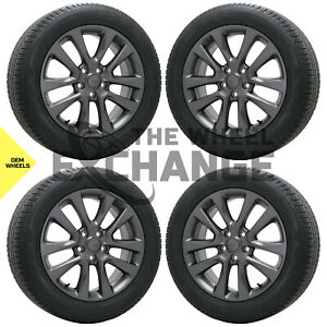 20 Jeep Grand Cherokee Wheels Rims Tires Factory Oem 2018 2019 2020 Set 4 9168
