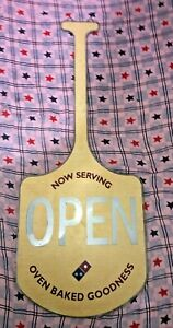 Rare Domino s Pizza Paddle Led Window Sign One Of A Kind