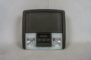 07 2014 Ford Expedition Overhead Console Map Lights Sunroof Switch Storage