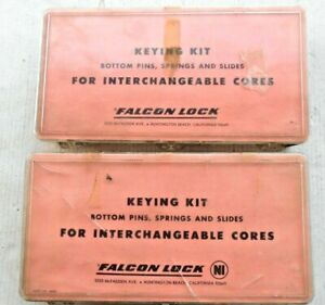 2 Boxes Ic Interchangeable Core Lock Pin Rekeying Kit