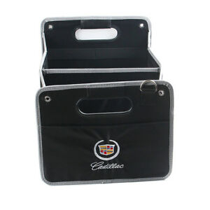 Car Trunk Organizer Folding Fold Collapsible Storage Bag Box Fit For Cadillac