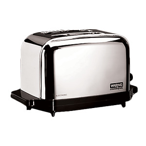 Waring Wct702 Commercial Toaster 2 1 3 8 Wide Slots 2 Slice Capacity