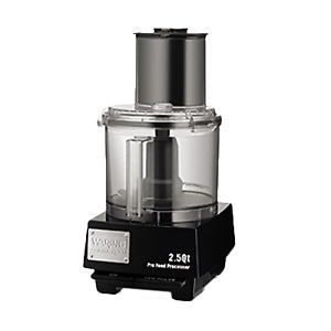 Waring Wfp11s Commercial Batch Bowl Food Processor 2 5 Quart