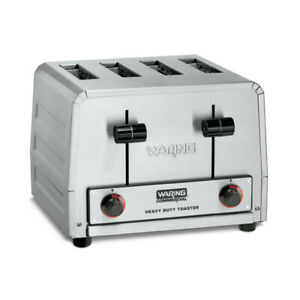 Waring Wct805b Commercial Toaster Heavy duty