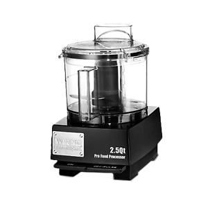 Waring Wfp11sw Commercial Food Processor 2 5 Quart Vertical Chute Feed Design