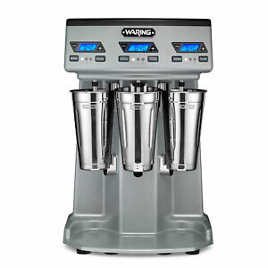 Waring Wdm360tx Drink Mixer Countertop Triple Spindle 3 Speed 15 000