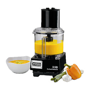 Waring Wfp14s Commercial Batch Bowl Food Processor 3 5 Quart