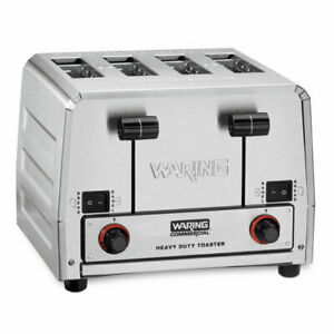 Waring Wct850rc Commercial Switchable Bagel bread Toaster Heavy duty