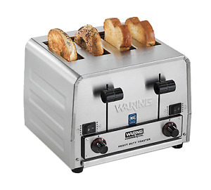 Waring Wct855 Commercial Switchable Bagel bread Toaster Heavy duty