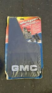 Vintage Gmc Pickup Truck Mud Flaps Rare Nos Chevy C10 High Sierra Pair