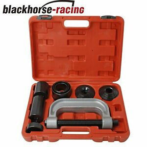 Heavy Duty 4 In 1 Ball Joint Press Amp U Joint Removal Tool Kit With 4x4 Adapters