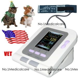 Animal Blood Pressure Monitor Nibp Digital Lcd 6 11cm Cuff Veterinary Sw Usa