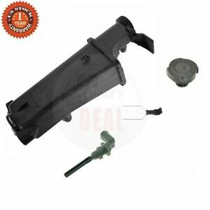 Radiator Coolant Overflow Tank Bottle Reservoir W Level Sensor