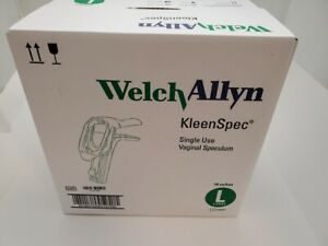 Box Of 18 Welch Allyn Kleenspec Vaginal Speculum Large Single Use 59004