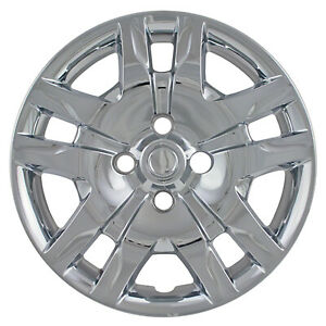 New Set Of 4 16 Silver Aftermarket Wheel Covers Hubcaps For 2010 2012 Sentra
